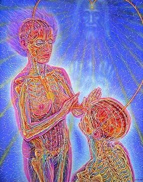 Healing-abstract